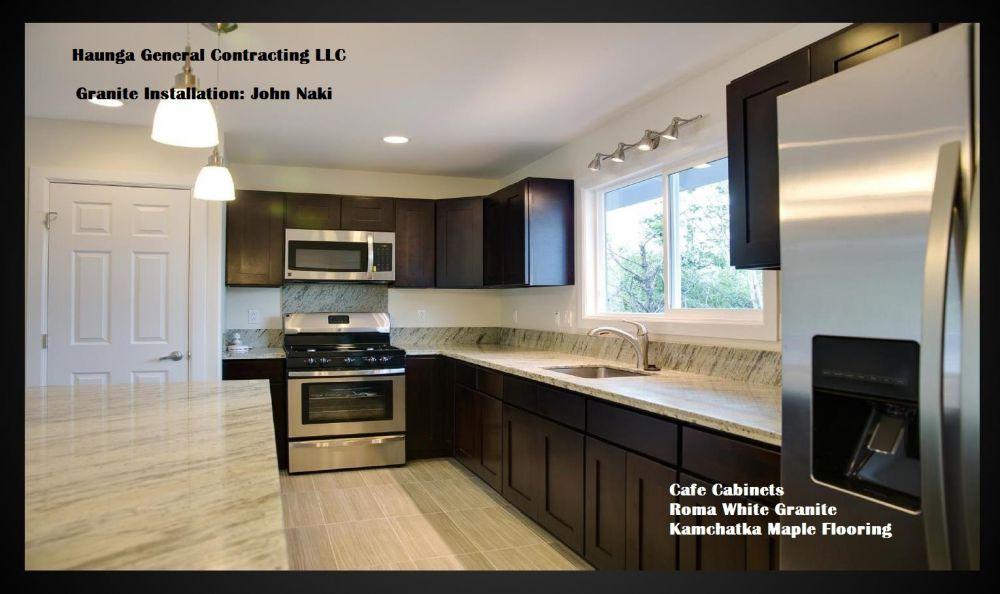 Cabinets kitchen beyond big island hawaii granite for Kitchen cabinets hawaii
