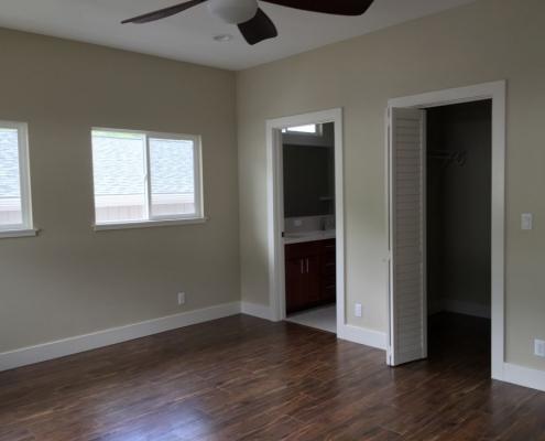 dark flooring install