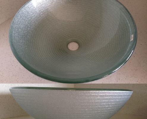 silver vessel sink